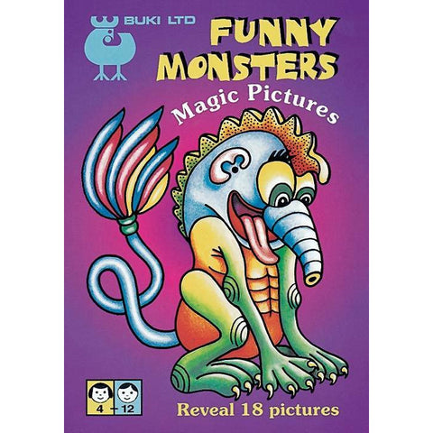 Magic Pictures - Funny Monsters
