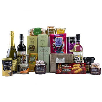 Afternoon Deluxe Hamper ¦ Afternoon Treats Selection ¦ A Wine Lovers