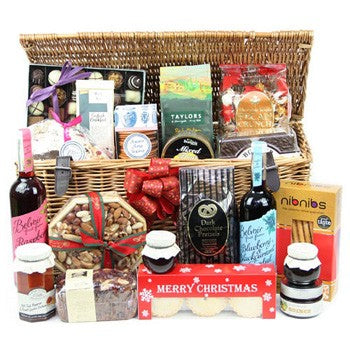 Wish Merry Christmas With Corporate Christmas Hampers Baskets Gifts