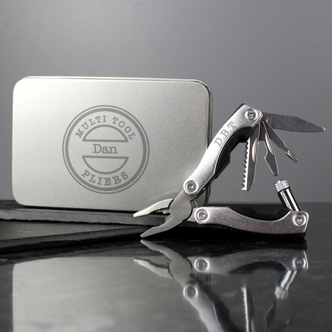Personalised Stamp Motif Stainless Steel Multifunctional Pliers Gifts for Dad
