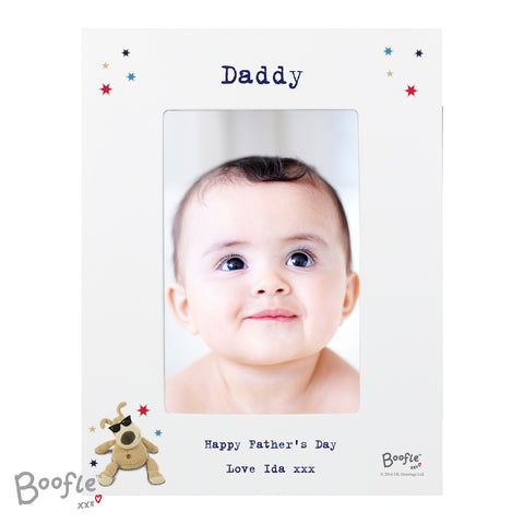 Personalised Boofle Stars Photo Frame ¦ Father's Day Gift Ideas UK