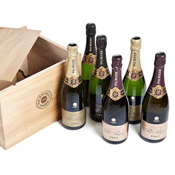 Six Champagne Bottles Gift ¦ Send Luxury Case of 6 Bottles Champagne Gifts