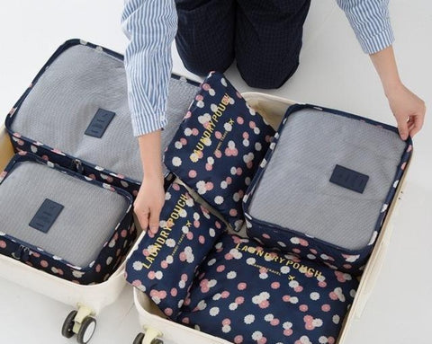 Travel Organizers Cases ¦ Packing Pouches  ¦ Luggage Suitcase Organizer