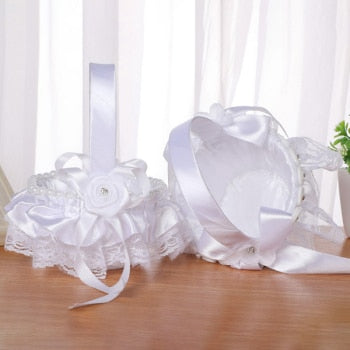 Wedding Supplies Flower Basket Simulation Petals Party ¦ Placing Flower and Candy