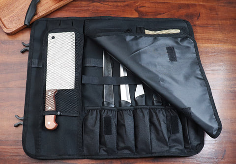 Chef Knife Roll Bag ¦ Kitchen Chef Knife Storage Rolls & Bags Gifts