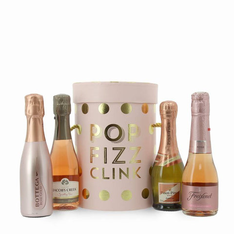 Pop Fizz Clink Prosecco & Sparkling Wine Drum Set Gift for Her ¦ Gift Ideas