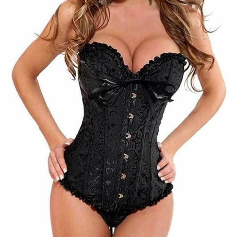 Women's Corsets and Bustiers Lace Up Plus Size Corset Gifts