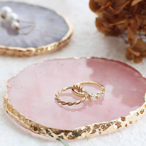 Resin Jewelry Display Plate Necklace ¦ Ring Earrings Display Tray Gifts