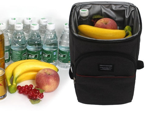 Shoulders Thermal Insulated Bag ¦ Backpack Picnic  Cooler Bag Gifts