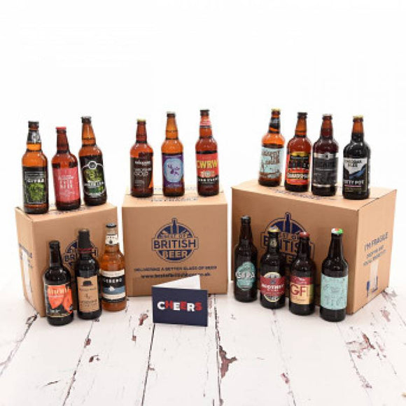 Beers Gifts Sets ¦ British Beers Mixed Cases Online Delivery ¦ A Wine Lovers