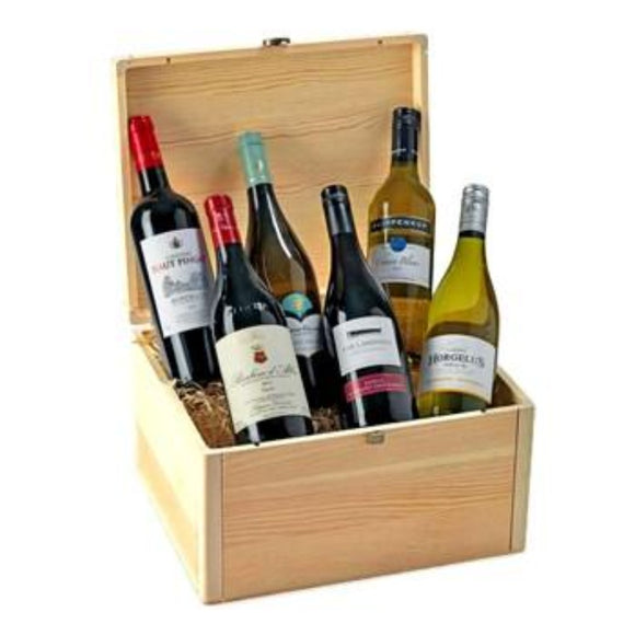 Wines Gift Sets & Wine Hampers ¦ 6 Cases of Wine Gift Hamper Delivered A Wine Lovers