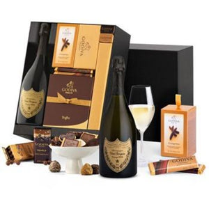 Dom Pérignon and Godiva Luxury Chocolate Gifts Set ¦ A Wine Lovers