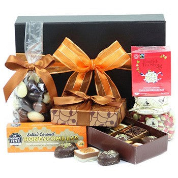 Belgian Chocolate & English Breakfast Tea Selection ¦ British Tea Gifts A Wine Lovers