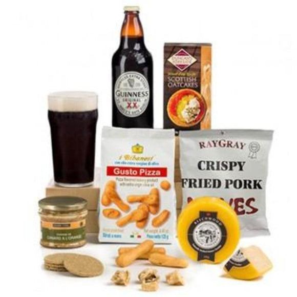 Guinness Gourmet Hamper ¦ Beer & Gourmet Basket ¦ A Wine lovers
