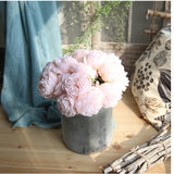 Silk  Flowers Peonies Selection for Home Decor!! - A Wine Lovers