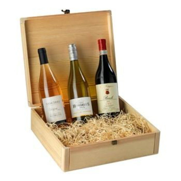 Mixed Trio Wine Gift Sets & Wine Hampers ¦ 3 Cases of Wine Gift Hamper  A Wine Lovers