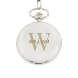 Personalised Birthday Big Age Pocket Fob Watch ¦ Men's Watches Gift  A Wine Lovers