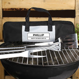Personalised Classic Stainless Steel BBQ Kit Gifts ¦ Personalised Gifts A Wine Lovers