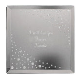Personalised Any Message Diamante Glass Trinket Box ¦ Birthday Gift A Wine Lovers