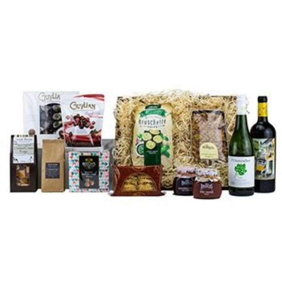 Christmas Hampers Basket ¦ Christmas Food & Gift Baskets Delivered A Wine Lovers