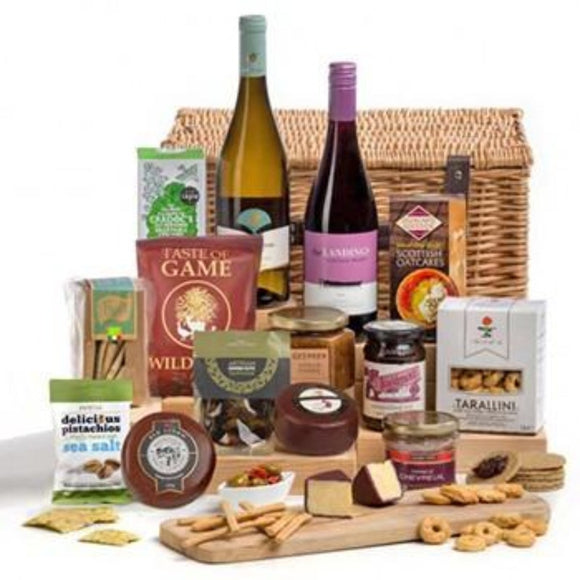 Gourmet Hamper Gifts UK ¦ Wine, Cheese & Snacks Gifts Hampers ¦ A Wine Lovers