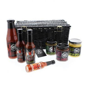 Hot Sauce Gift Hamper ¦ Chilli Selection ¦ Gifts for Spicy Food Lovers