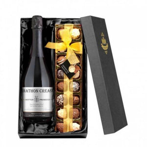 Prosecco Gifts ¦ Gift Box for Prosecco and Belgian Chocolates Lovers ¦ A Wine Lovers - A Wine Lovers