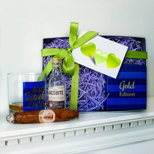 Dad's Whiskey and Chocolate Cigar Gift Box ¦ Whisky/Cigar Gift for Dad ¦ A Wine Lovers