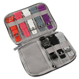 Multifunction Portable Watch Strap Organizer ¦ Travel Watch Storage Zipper Case A Wine Lovers