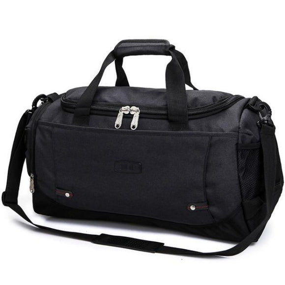 Men's Travel Bag ¦ Hand Luggage Bags Nylon Weekend Travel Bags for Men A Wine Lovers