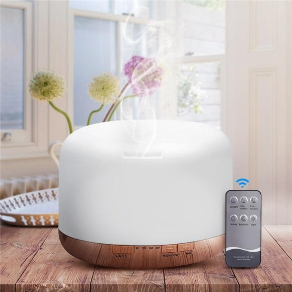 Essented oil diffuser ¦ Air Humidifier & Aromatherapy Diffuser LED Lamp A Wine Lovers
