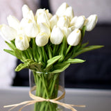 Tulips ¦ Tulip Flowers Real Touch ¦ Artificial Tulip Bouquet Flowers A Wine Lovers