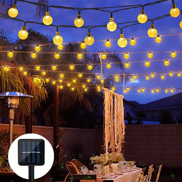 5M 10M Solar Garland Outdoor ¦ LED  Solar Garden String Fairy Lights A Wine Lovers