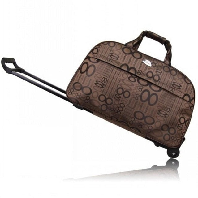 Trolley Suitcase ¦ Rolling Luggage ¦ Travel Luggage With Wheels - A Wine Lovers