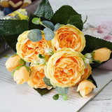 Roses Artificial Flowers ¦ Fake Silk Flowers ¦ Home & Wedding Decor! - A Wine Lovers