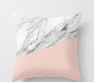 Rose Gold Marble Texture Throw Pillow Case Cushion Cover For Home Decor - A Wine Lovers