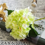 Luxury Silk Hydrangea Flowers Arrangement! - A Wine Lovers