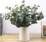 Eucalyptus Leaves ¦ Decorative Green Artificial Branches Leaves - A Wine Lovers
