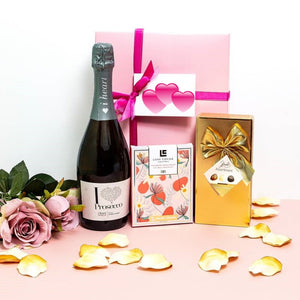Prosecco and Belgian Chocolates Gift for Mum ¦ Chocolate and Prosecco Box Set A Wine Lovers
