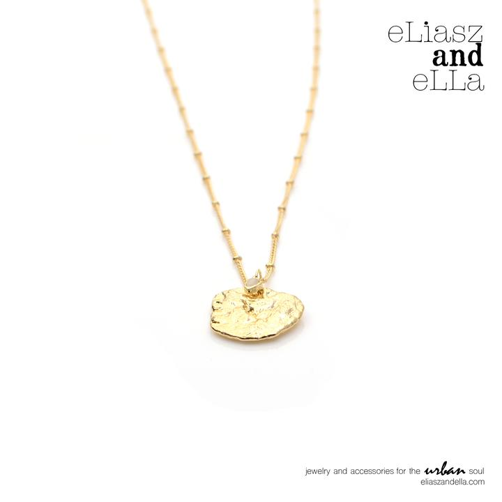 eLiasz and  eLLa Miel Gold Necklace