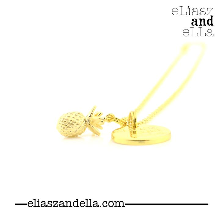 eLLiazs and eLLa  Ananas Necklace