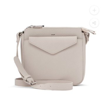 COLAB Pebbled Crossbody with Pouch