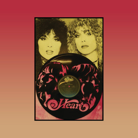 Heart - Bebe Le Strange ~ Limited Run Original Carved Vinyl & Album Cover