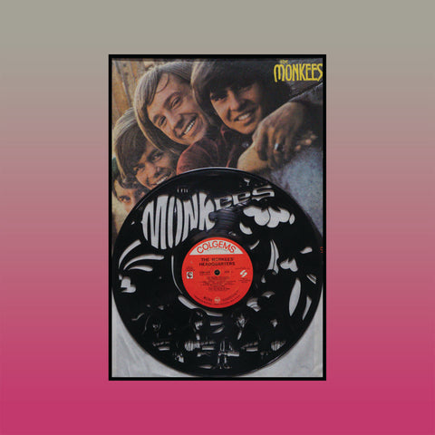 Monkees Mashup ~ Limited Run Original Carved Vinyl & Album Cover