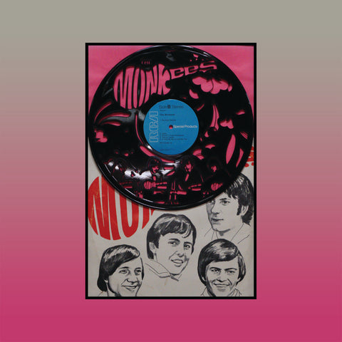 Monkees - Self-Titled (Version 3) ~ Limited Run Original Carved Vinyl & Album Cover