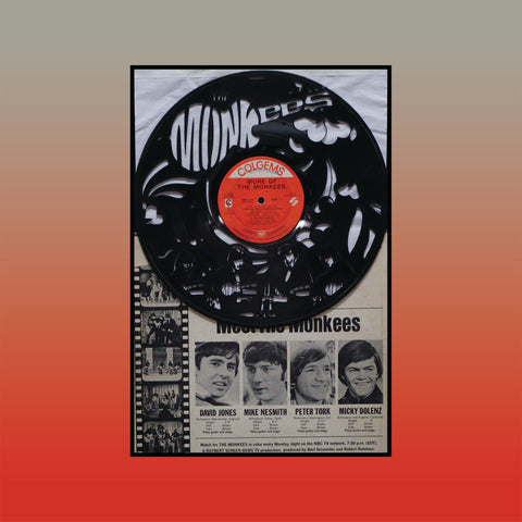 Monkees - More of the Monkees (Version 2) ~ Limited Run Original Carved Vinyl & Album Cover
