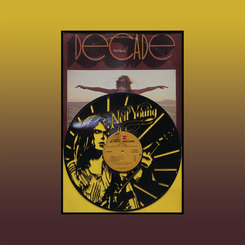 Neil Young - Decade (Version 2) ~ Limited Run Original Carved Vinyl & Album Cover