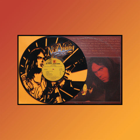 Neil Young - Decade (Version 3) ~ Limited Run Original Carved Vinyl & Album Cover