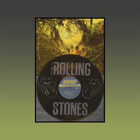Rolling Stones - High Tides and Green Grass (Version 1) ~ Limited Run Original Carved Vinyl & Album Cover