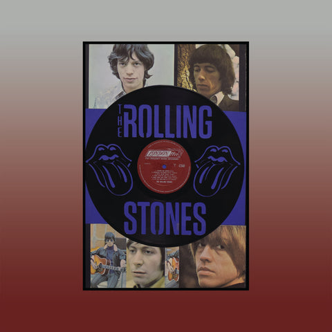 Rolling Stones Mashup 2 ~ Limited Run Original Carved Vinyl & Album Cover